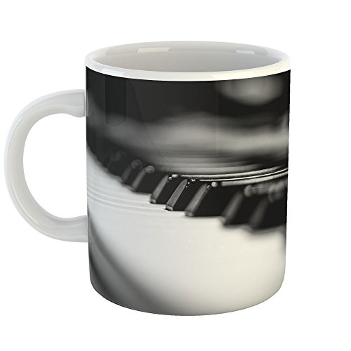 Gift Concerto Coffee (Westlake Art - Black Piano - 11oz Coffee Cup Mug - Modern Picture Photography Artwork Home Office Birthday Gift - 11 Ounce (E412-FB7DB))