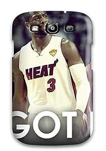 Rowena Aguinaldo Keller's Shop 4811367K646160795 nba lebron james beat dwyane wade chris bosh miami heat NBA Sports & Colleges colorful Samsung Galaxy S3 cases