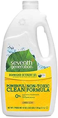 Seventh Generation Gel detergente para lavaplatos, aroma a ...
