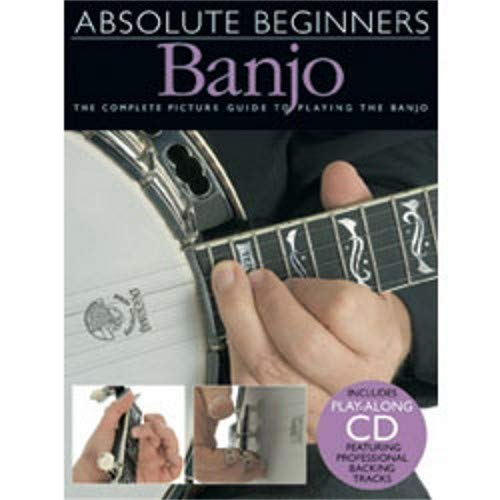 - Hal Leonard Absolute Beginners Banjo (Book and CD)