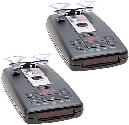 Escort Passport S55 High Performance Radar and Laser Detector 2 Pack