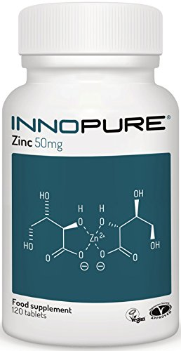 ZINC Gluconate 50mg | One a Day Easy to Swallow Zinc Gluconate Tablet | 120...