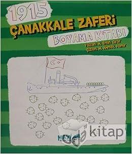 1915 Canakkale Zaferi Boyama Kitabi M Emin Oyar 9786051594682