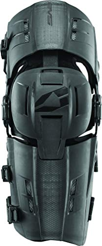 EVS Sports Men's Knee Brace (RS9 Pair) (Black, Medium), 2 ()