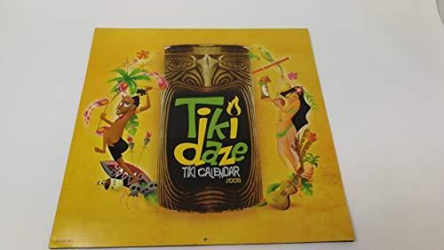 Original Vintage TIKI DAZE Tiki Calendar 2008 Classic Tiki Bars