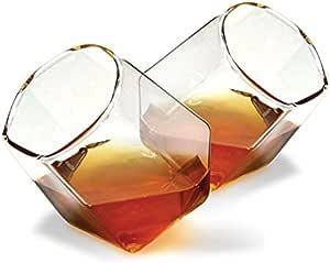 Juego de 2 vasos de Whisky de diamante – Licor Forma De ...