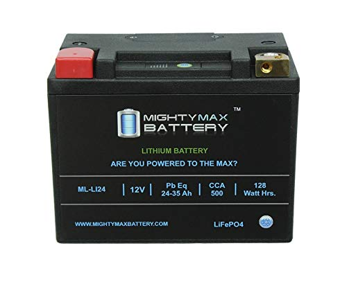 Mighty Max Battery Lithium Iron Phosphate 12V 35AH 480CCA Starting Battery for Golf Cart Brand Product