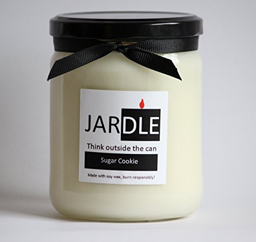 (A 16 oz Soy Candle Sugar Cookie Dye Free Lead Free With Cotton Wick)