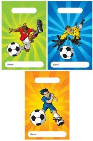 12 Disegno Calcio Bambini Sacchetti Per Feste Bambini Accessori E