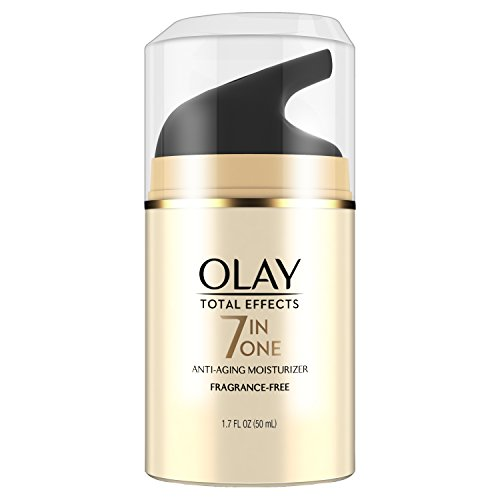 Face Moisturizer by Olay Total Effects Anti-Aging Face Moisturizer, Fragrance-Free 1.7 fl oz (Olay Total Effects 7 In 1 Night Cream)