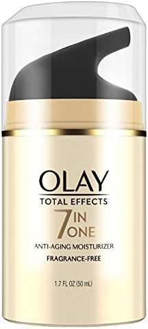 Olay Total Effects Anti-Aging Face Moisturizer, Fragrance-Free 1.7 fl oz