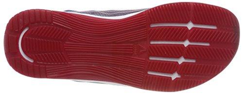 Reebok Cn1031, Scarpe da Fitness Uomo Multicolore (Excellent Redteam Dark Royalwhite)