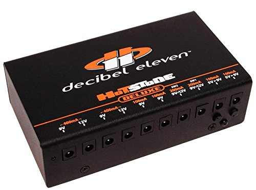 Decibel Eleven Hot Stone Deluxe Isolated DC Power Supply with Selectable Input Voltage by Decibel Eleven