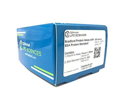 Bradford Protein Assay with BSA Protein Standard – 500 Assays