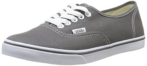 Vans Authentic Lo Pro VGYQETR Unisex - Erwachsene Klassische Sneakers Pewter/True White