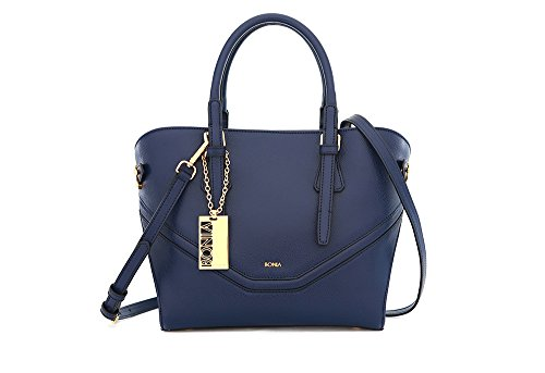bonia-womens-dark-blue-dreamy-satchel