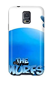 First-class Case Cover For Galaxy S5 Dual Protection Cover The Smurfs 2