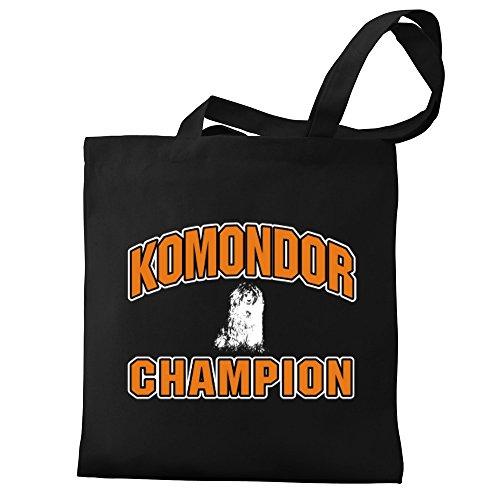 Eddany Komondor Komondor Canvas Bag Eddany Tote Canvas champion Bag Tote champion qXwnURxH1g