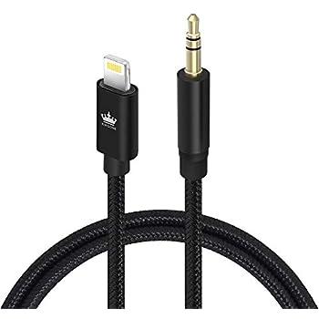 Surprising Amazon Com Aux Cord Compatible With Iphone X 8 8 Plus 7 7 Wiring Digital Resources Skatpmognl