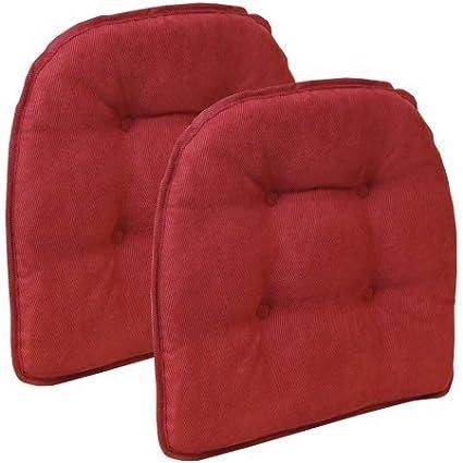 Gripper Non Slip 15u0026quot; X 16u0026quot; Nouveau Tufted Chair Cushions, ...