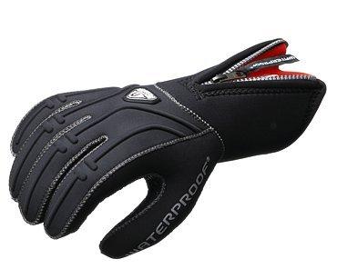 (Waterproof G1 5mm 5-Finger Gloves, Medium)