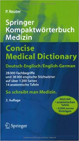Download E-books Springer Kompaktwörterbuch Medizin / Concise ...