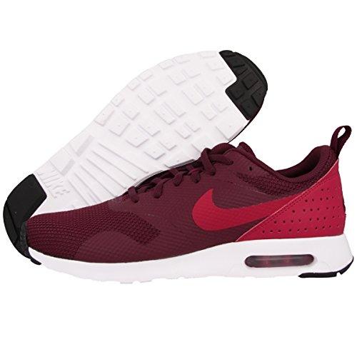 Nike Air Max Tavas, Scarpe da Ginnastica Uomo Night Maroon-gym Red-black-white (705149-604)