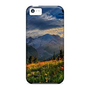 ChehtvQ76DBBID Meadow Lit By The Sun Fashion Tpu 5c Case Cover For Iphone