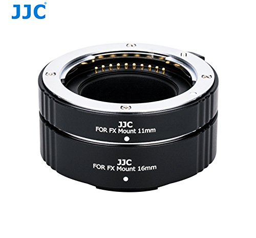JJC Auto Focus Automatic Macro Extension Tubes for Fujfifilm