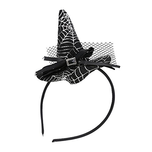 Chinatera Theme Costume Mini Witch Hat Halloween Dress Up Show Party Props Decorations Witch Hat (Creative Simple Halloween Costumes)