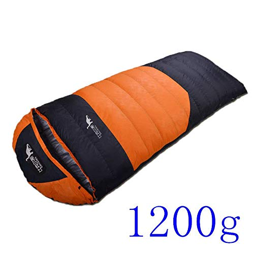 Amazon.com : RubyShopUU Ultralight Envelope Winter 90% Duck Down Sleeping Bags Outdoor Sport Saco De Dormir Camping Water Resistant Hiking Sleeping Bag ...