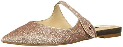 Nine West Women's wnCAMILAP Mary Jane Flat, Rose Gold, 11 M US (Nine West Gold Shoes)