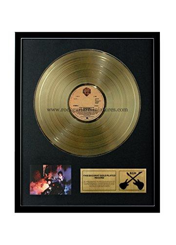 RGM1038 Prince Purple Rain Gold Disc 24K Plated LP 12