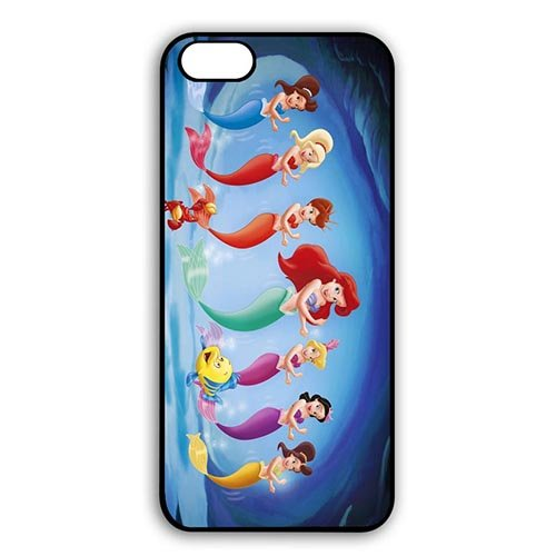 Coque,the Little Mermaid Movie Design Anti Slip Shell for Coque iphone 7 4.7 pouce 4.7 pouce Durable Snap On Case Cover With Best Plastic - Cool Coque iphone 7 4.7 pouce Phone Case Cover for Boys