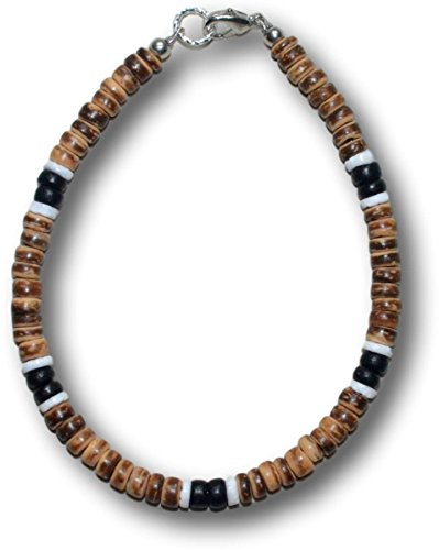 Tiger Puka Shell Necklace - 6