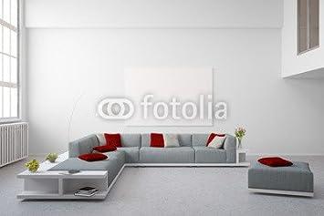 Alu Dibond Bild 110 X 70 Cm Sitzecke Im Wohnzimmer Im Loft Bild