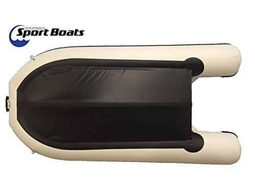 Inflatable Sport Boats Shark 9.8' - Model 300 - Aluminum Floor Dinghy with Seat Bag by Inflatable Sport Boats (Image #5)