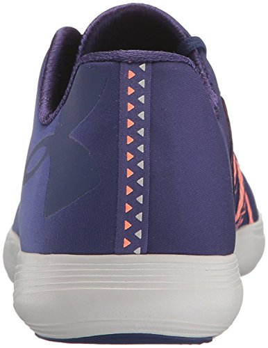 Under Armour Mens Street Precision Low Sneaker Europa Purple / Glacier Grey / Europa Purple