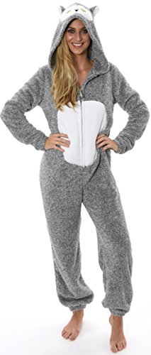 IN TEMPO TUTTO Donna Boutique UNO Snowy Onesie Owl LIBERO NUOVO PIGIAMA DONNA ABBIGLIAMENTO qHZqzXRxw