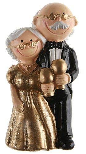 Santex 5421 3 Figur Goldene Hochzeit Amazonde Küche