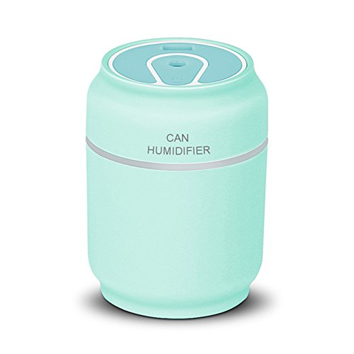 Price comparison product image ETbotu Portable Mini Unique Cans Shaped USB Bottle Multifunction Humidifier/Small Fan/LED Light