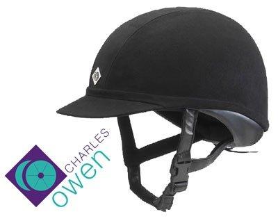 Charles Owen Wellington Professional Riding Helmet - Black (6 3/4 (55cm))