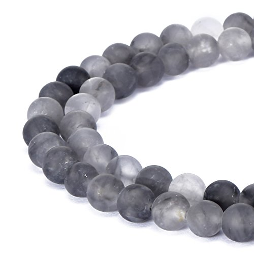 BRCbeads Cloudy Quartz Natural Gemstone Loose Beads for sale  Delivered anywhere in USA