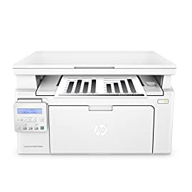 HP LaserJet Pro M130nw All-in-One Wireless Laser Printer, Amazon Dash Replenishment ready (G3Q58A). Replaces HP M125nw Laser Printer 4 Main functions of the HP M130nw laser printer: monochrome print, scanner, copier, wireless printing, LCD display, Ethernet network connectivity, and more Prints up to 23 pages per minute, input tray paper capacity up to 150 sheets, duty cycle up to 1,500 pages per month Mobile printing: Use the HP Smart app to easily set up your printer, scan business documents with your mobile camera, and print through online services like Google Drive or Dropbox. Print also using AirPrint, Google Cloud Print or Wi-Fi Direct printing