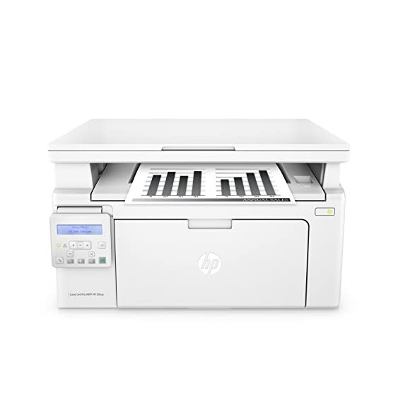 HP LaserJet Pro M130nw All-in-One Wireless Laser Printer, Amazon Dash Replenishment ready (G3Q58A). Replaces HP M125nw Laser Printer 1 Main functions of the HP M130nw laser printer: monochrome print, scanner, copier, wireless printing, LCD display, Ethernet network connectivity, and more This HP M130nw laser printer replaces the HP M125nw printer, additionally the newer HP M130nw has 10 percentage faster print speed plus improved mobile printing experience Prints up to 23 pages per minute, input tray paper capacity up to 150 sheets, duty cycle up to 1,500 pages per month