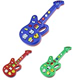 XuBa 2017 New Hot Play Musical Electronic Guitar Toy Nursery Rhyme Music Children Baby Kids Gift Instrumentos Musicais Lowest Price Color at Random