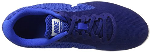 Nike Men's Revolution 3 Running Shoe, Zapatillas Deportivas para Interior para Hombre Azul (Deep Royal Blue / White / Hyper Cobalt)