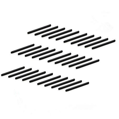NEFUTRY 30 Pack Replacement Pen Standard Black Nibs for Wacom Bamboo Intuos Cintiq (30pcs)