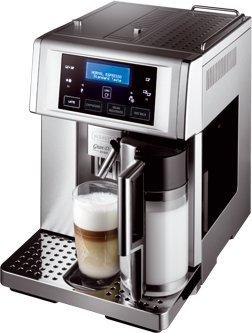 DeLonghi ESAM6700 PrimaDonna Avant Italian Super-Automatic Espresso Machine with Auto Cappuccino, Stainless Steel (Delonghi White Toaster Oven compare prices)