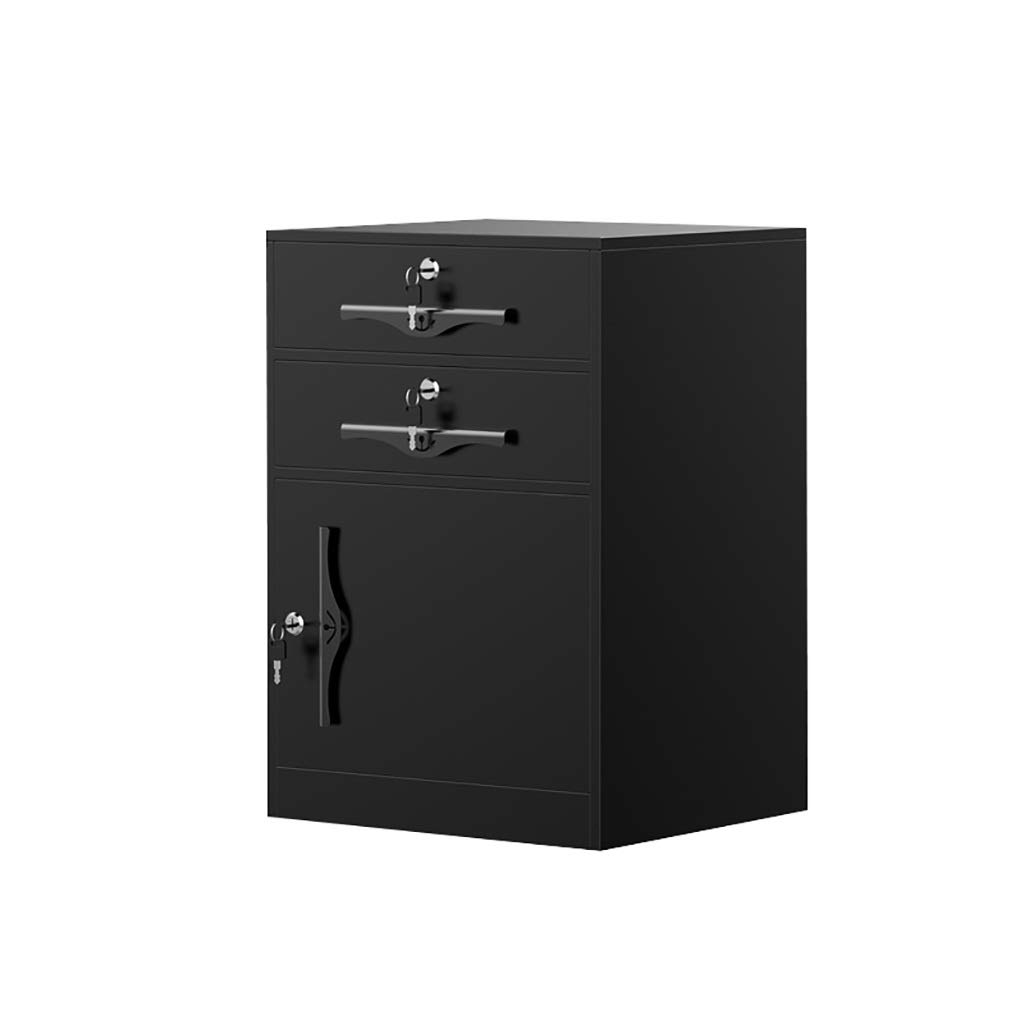 QSJY File Cabinets Disassembly Fireproof and Durable Large Space with Lock Metal Locker Compartment Design Storage Protection Important documents 454065cm (Color : C) by QSJY File Cabinets